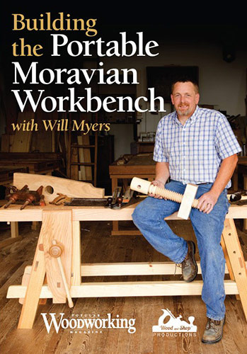 Building The Portable Moravian Workbench Cover