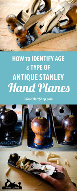 Stanley plane identification and dating for Stanley Bailey Plane