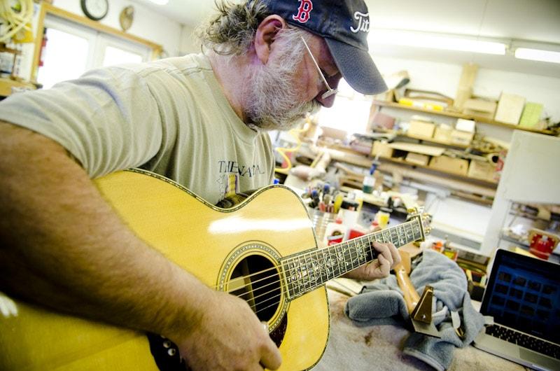 Wayne Henderson Guitar Maker