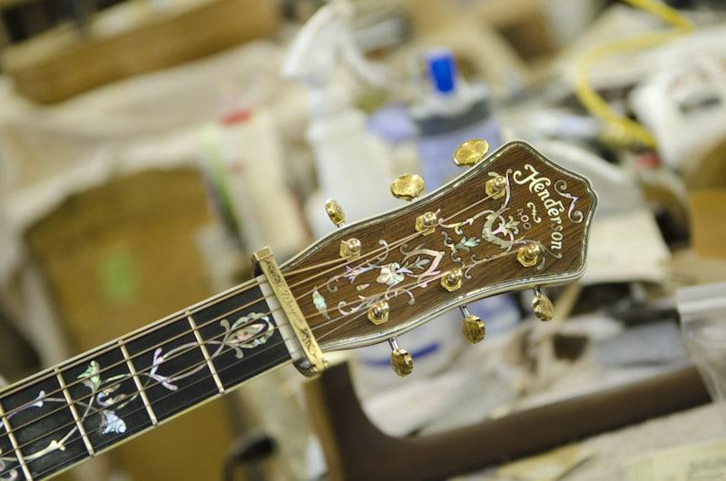 Wayne Henderson Guitar Shop