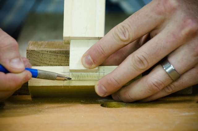 Making A Mortise And Tenon Joint With Woodworking Hand Tools