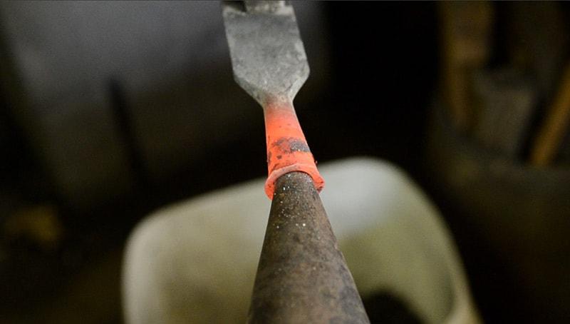 woodandshop-blacksmith-chisel-repair-bruce-dembling-socket