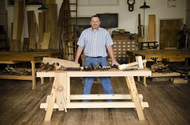 Moravian,Moravian Workbench,Roy Underhill,Woodwright,Will Myers,Workbench,Roubo Workbench