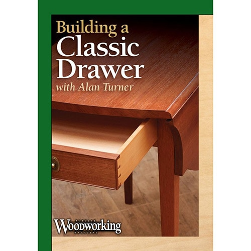 Building a classic drawer with alan turner DVD