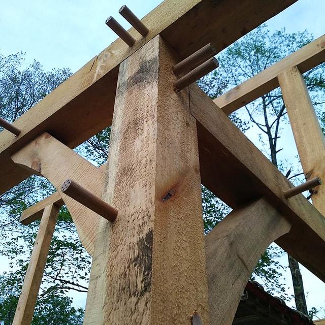 Ellis Brothers Timber Frame Building
