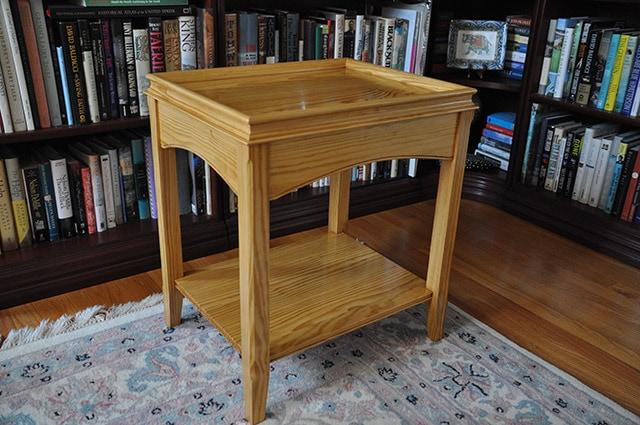 Pine Serving Table Built By James Huggett