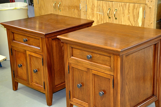 End Table With Drawers And Doors Built By James Huggett