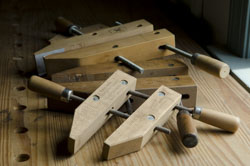 Wooden Hand Screw Wood Clamps Are Some Of The Best Clamps For Woodworking