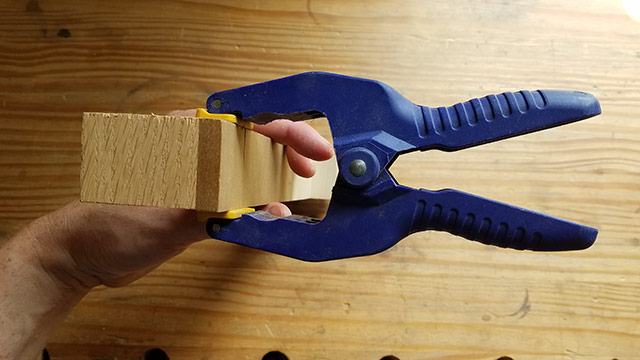 A Spring Clamp, Used For Delicate Clamping, Is A Useful Woodworking Clamp