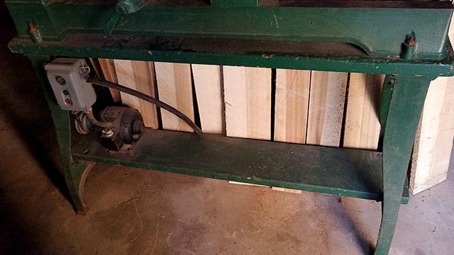 Cast iron lathe base for delta rockwell lathe