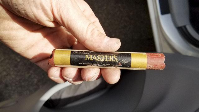 Master's Magic Wax Stick for furniture gap filling and repair