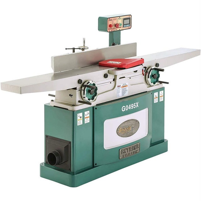 Grizzly G0495X power wood jointer