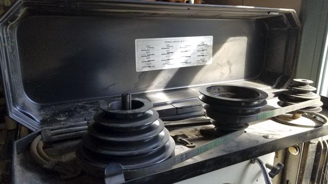 JET drill press belts