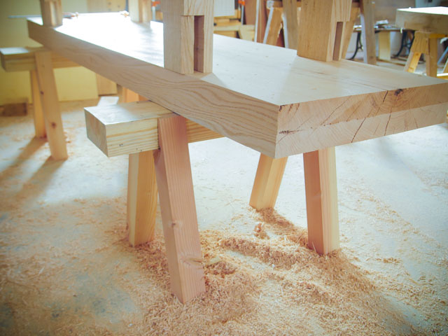 Building a roubo workbench