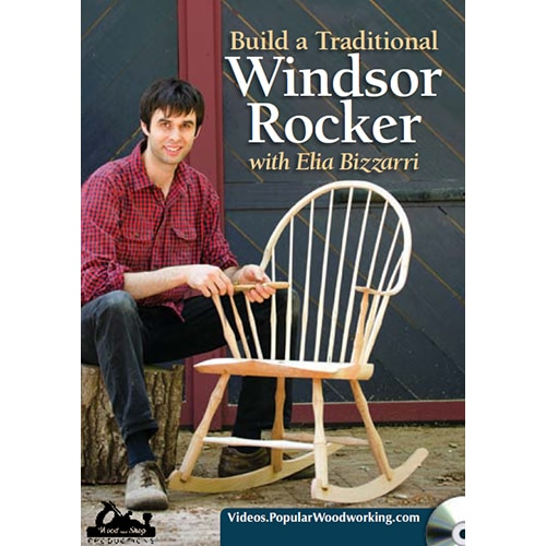 DVD cover for Build a Traditional Windsor Rocker with Elia Bizzarri
