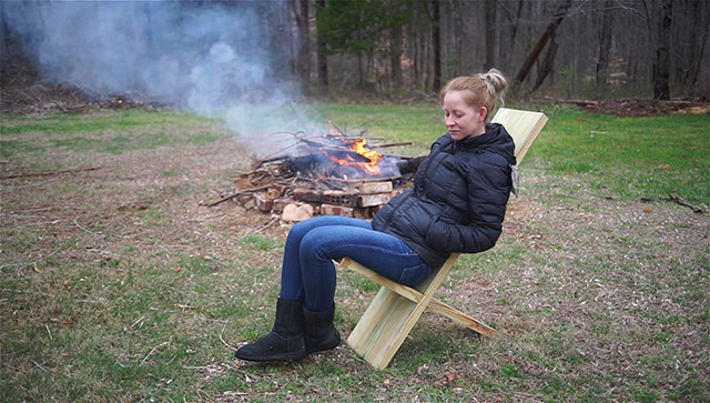Making A Collapsible Viking Camp Chair, How To Make Collapsible Viking Camp Chair