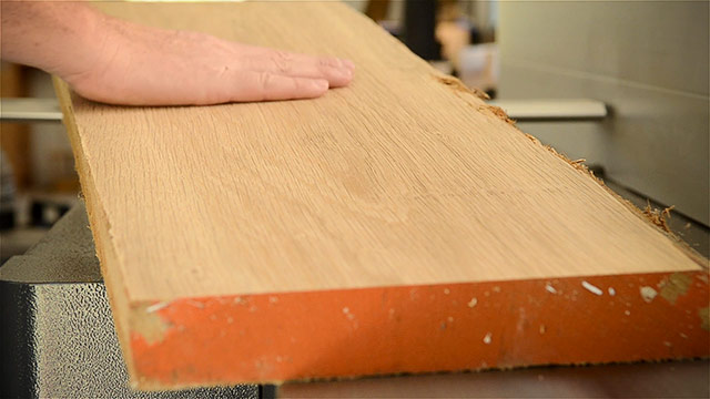 Nice Wood Surface From A Felder Ad 941 Jointer Planer