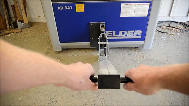 Felder Ad 941 Jointer Planer On Mobile Base