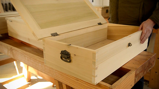 Dovetail Box Made With A Leigh Dovetail Jig