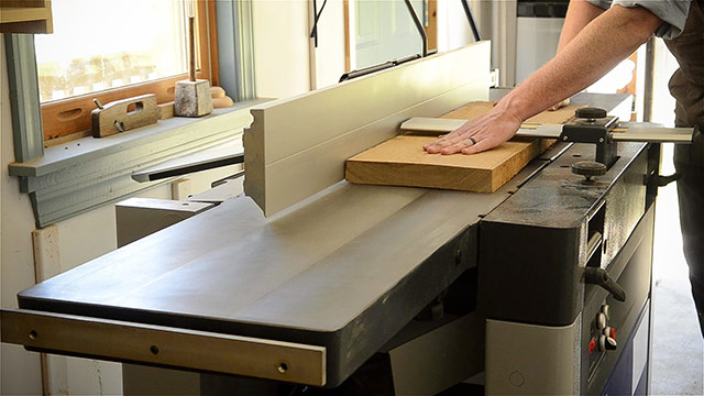 Squaring A Board With A Felder Ad-941 Thickness Planer