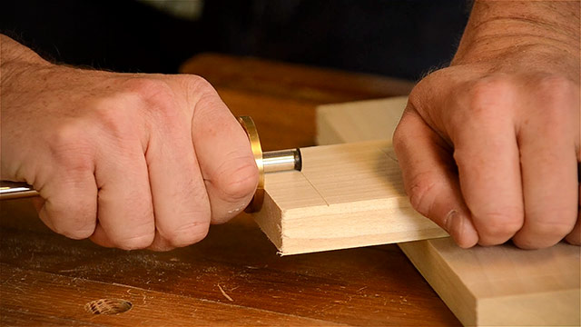 Cutting Dovetails By Hand With Woodworking Hand Tools Like This Marking Gauge