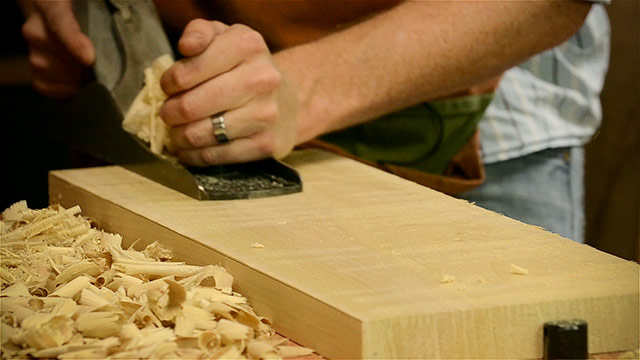 Squaring A Board With A Hand Plane