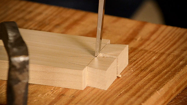 Cutting Dovetails By Hand With A Wood Chisel And Other Woodworking Hand Tools