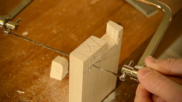 Cutting Dovetails By Hand With A Coping Saw And Other Woodworking Hand Tools