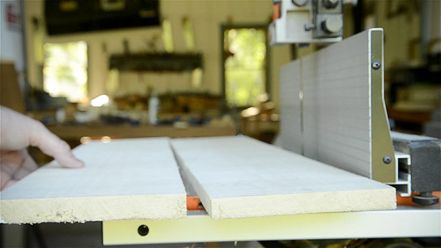 Bookmatched Poplar Boards Folded Over By Joshua Farnsworth After Resawing Aon A Grizzly 17 Inch Band Saw For Building A Dovetail Box