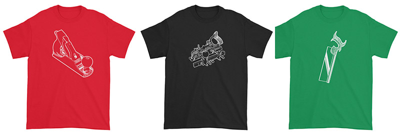 Woodworking T-Shirts And Apparel