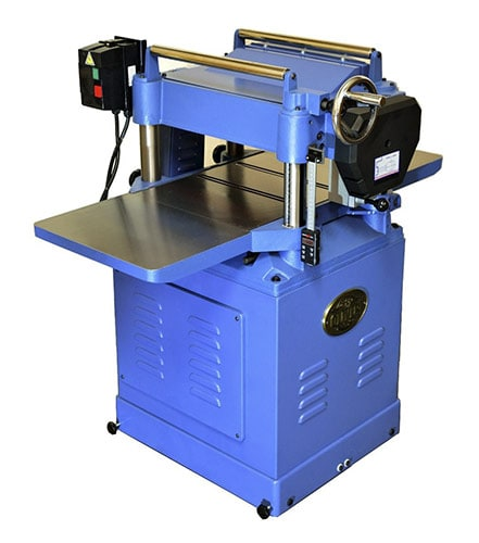 Oliver Thickness Planer With Helical Cutterhead