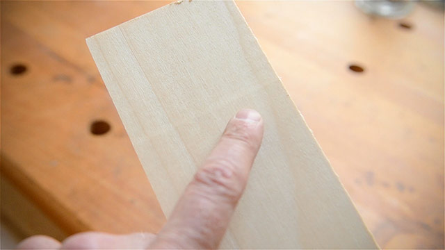 Thickness Planer Snipe On A Board