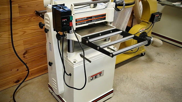 Jet Thickness Planer At An Estate Sale