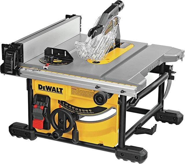 Dewalt Dwe7485 8-1/4 Inch Jobsite Compact Table Saw