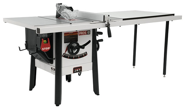 Jet 1.75 Hp Proshop Ii Contractor Table Saw