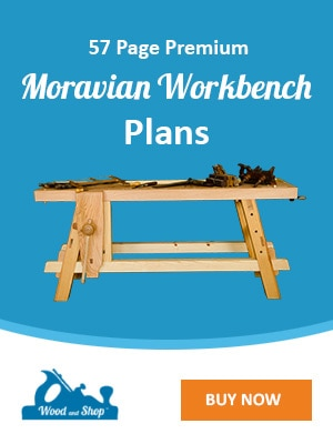 Moravian Workbench Plans