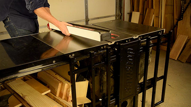Adding Rip Fence To A Sawstop Table Saw