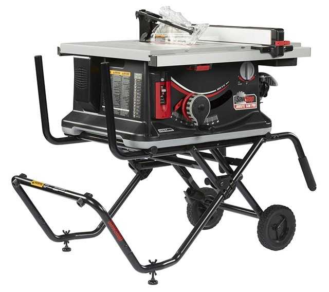 Sawstop Jobsite Table Saw Best Portable Table Saw