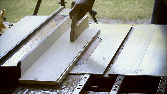 Ripping A Board On A Sawstop Table Saw The Best Table Saw