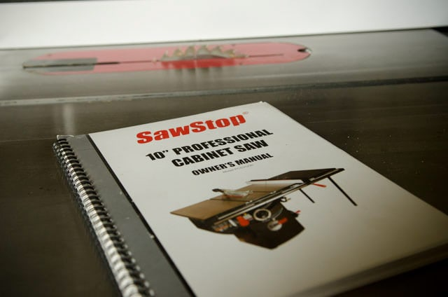 Sawstop 10 Inch Cabinet Saw User Manual Best Table Saw Guide