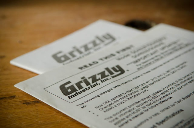 Grizzly User Manuals Are Terrible Best Table Saw Guide