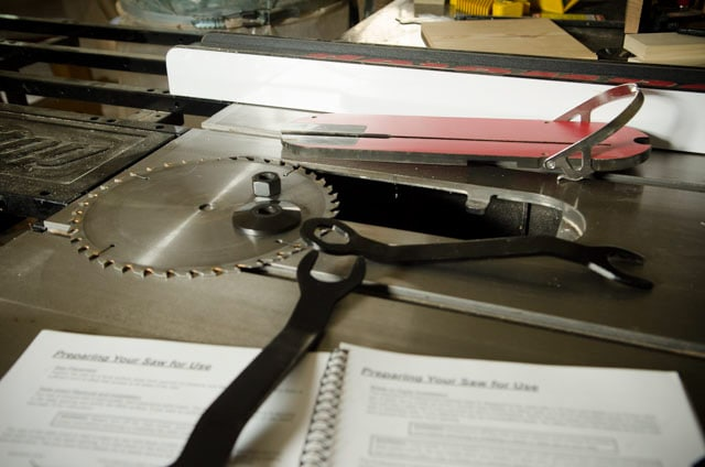 Setting Up A New Sawstop Table Saw Best Table Saw Guide