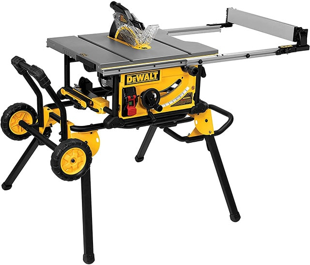 Dewalt Dwe7491Rs 10-Inch Jobsite Portable Table Saw